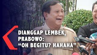 Dianggap Lembek Soal Natuna, Prabowo: