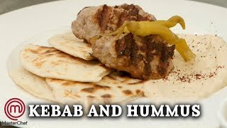 Homemade Kebabs | Celebrity MasterChef