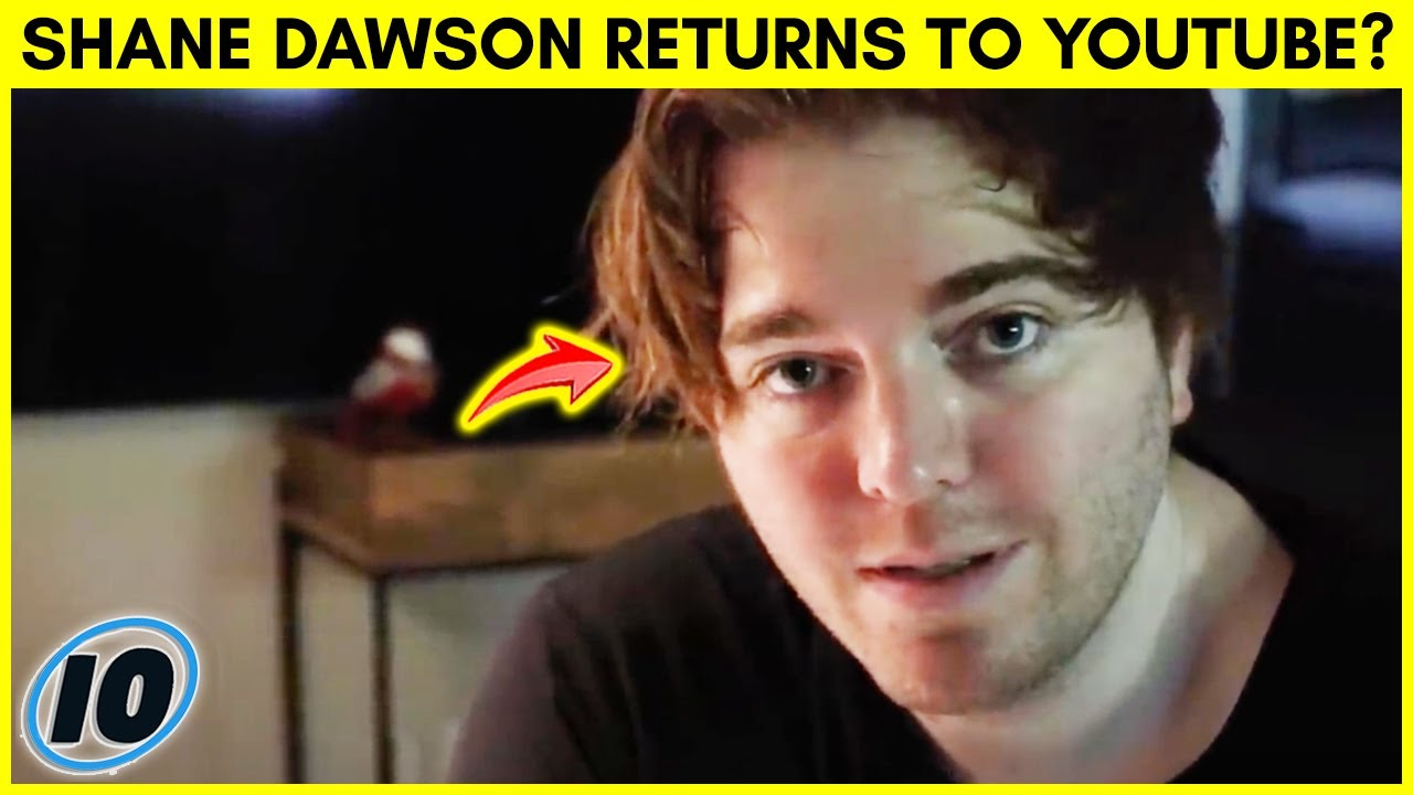 Shane Dawson Is Slowly Putting His Videos Back Up