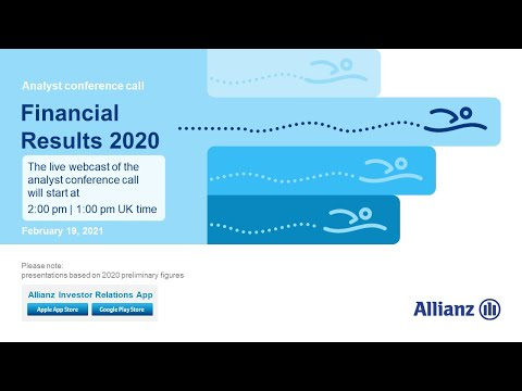 Allianz Group Analyst Conference Call on the Financial Results 2020