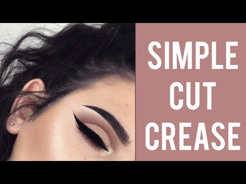 HOW TO | Simple Cut Crease Tutorial :) - YouTube - photo #7