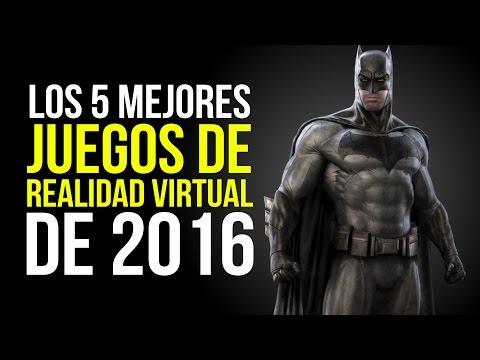 Los 5 MEJORES JUEGOS DE REALIDAD VIRTUAL de 2016