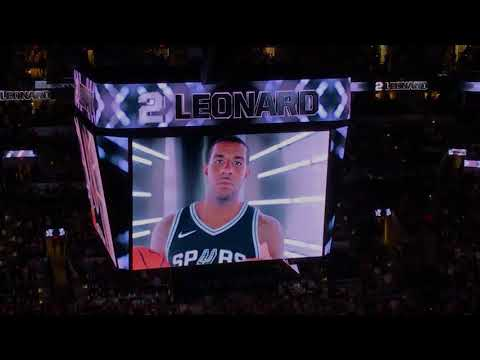 [New] 2017-18 Spurs Intro!