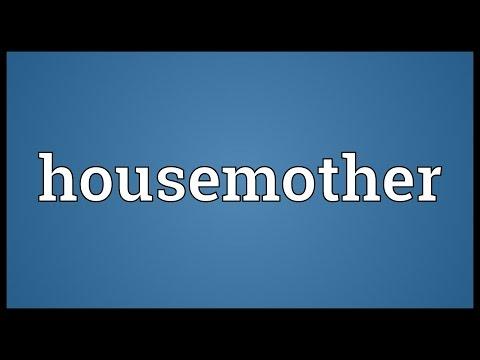 Header of housemother