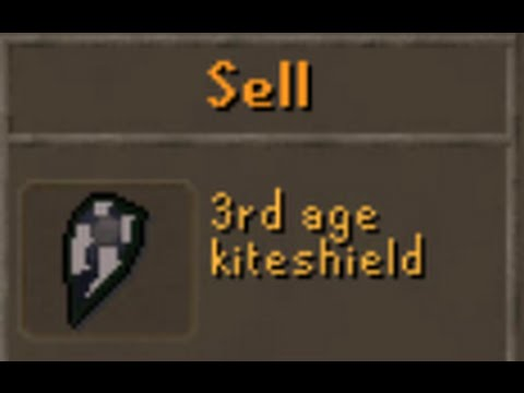 MY FIRST 3RD AGE FLIP! OSRS