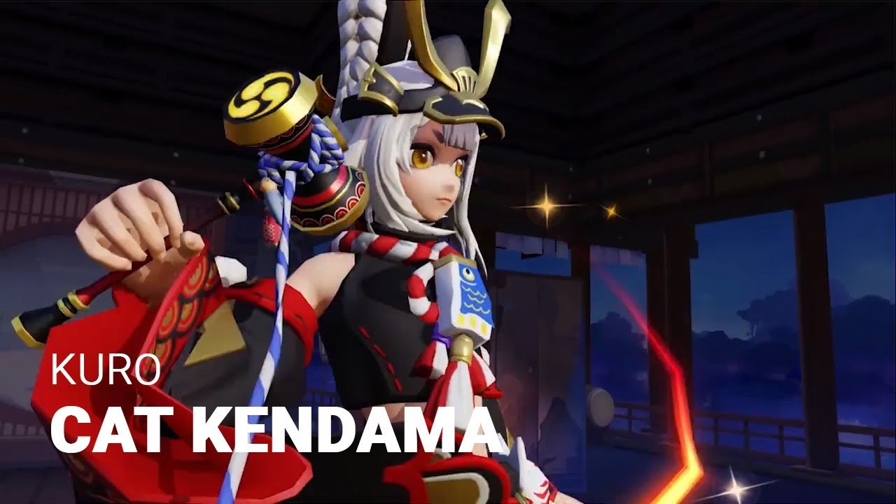 Skin Preview: Cat Kendama Kuro Gameplay Trailer