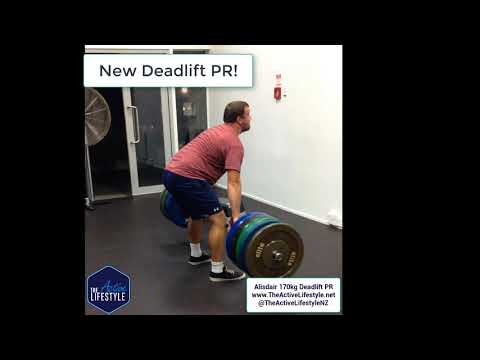 new deadlift pr for alisdair