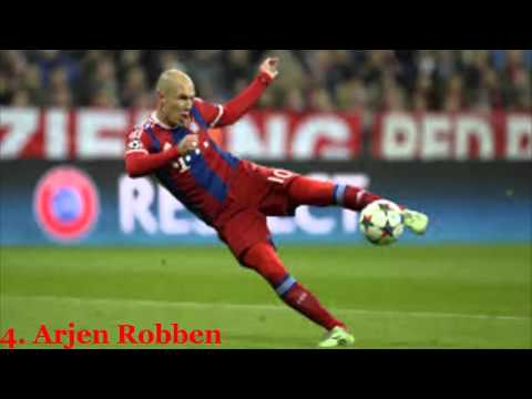 Top 10 Footballers 2015 |Top 10 Football Players |Best 10 Football Players 2015
