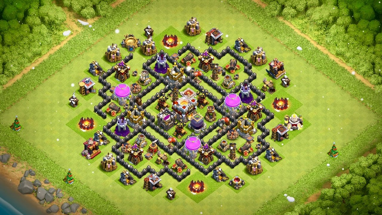 Undefeated Coc Th 8 Base 7