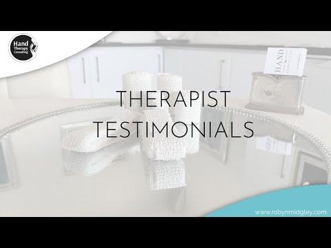 Therapist Testimonials