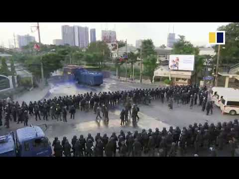 LIVE: Anti-government protests in Thailand