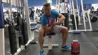 Concentrated Cable Machine Peak Curls