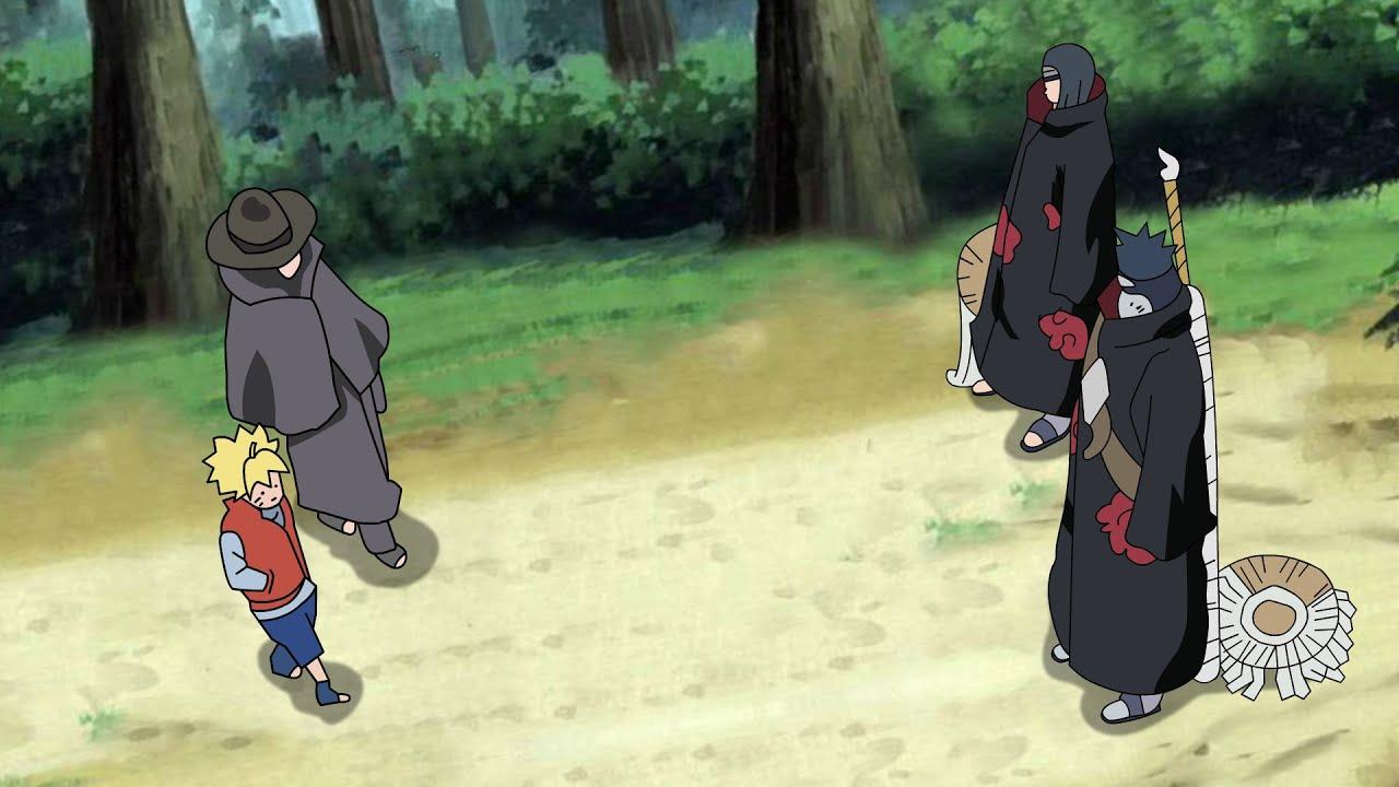 Boruto Sasuke Meet Young Itachi And Kisame Boruto Episode Fan Animation Youtube