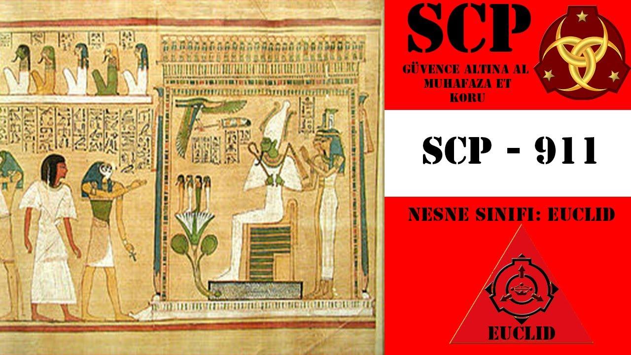 SCP 911 (Mısır Ölüler Kitabı)