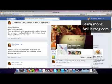 Best Practices for Restaurants on Facebook