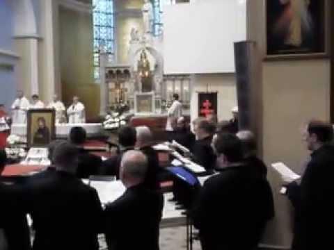 Śpiewanie czytania na ton gregoriański - Robert Pożarski