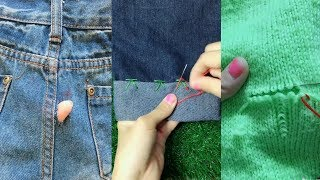 10 mẹo vặt may vá hữu ích cho quần áo bạn nên biết
