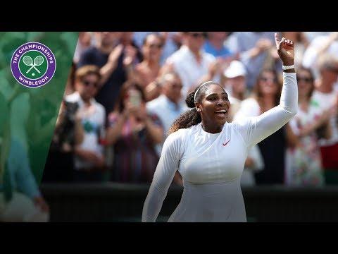 Serena Williams is through to her 10th Wimbledon Final | Wimbledon 2018