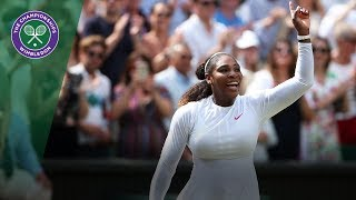 Serena Williams is through to her 10th Wimbledon Final | Wimbledon 2018