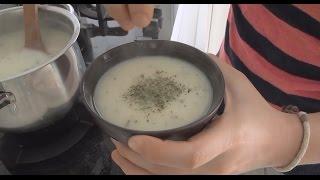 Bol Vitaminli Yoğurt Çorbası (Bulgurlu ve Nohutlu) Tarifi