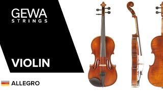 GEWA Violine Allegro-VL1 (GER)