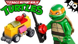 Lego Ninja Turtles Mikey's Mini Shellraiser 30271 Review