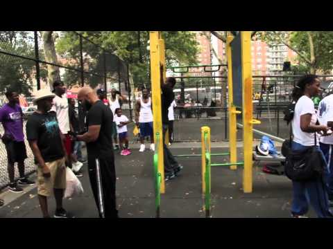 Street Workouts In Harlem