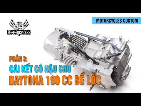 Cái kết có hậu cho cục Daytona 190cc bể lốc máy