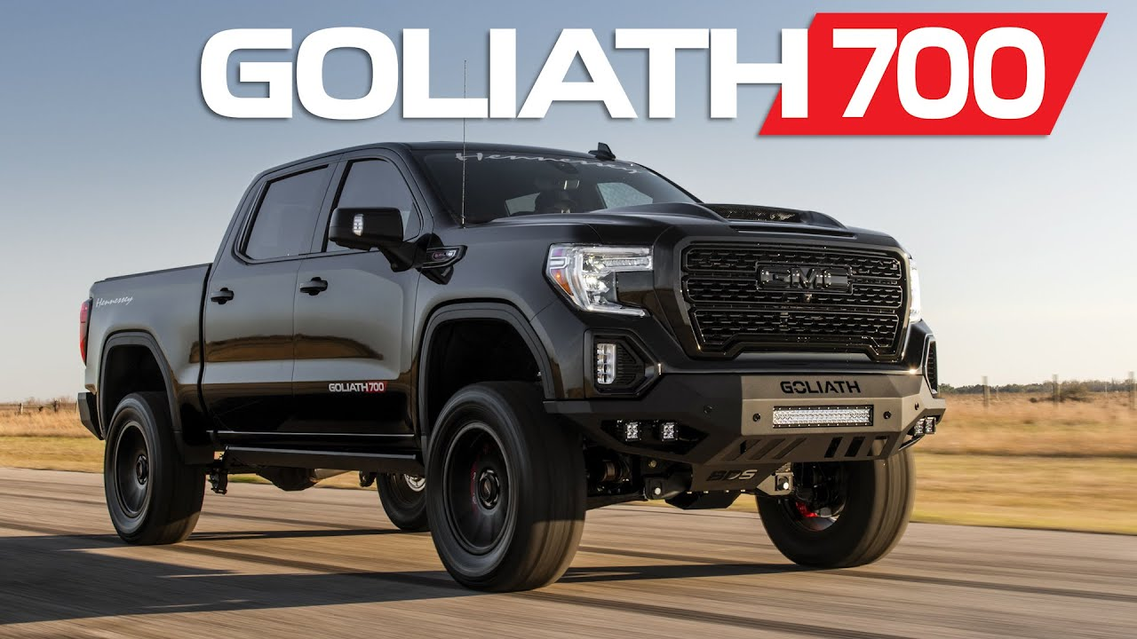 Goliath 700 Hp Supercharged 2020 Gm Trucks By Hennessey Youtube