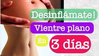 VIENTRE PLANO EN 3 DÍAS (No es otra de esas dietas mágicas para perder peso)