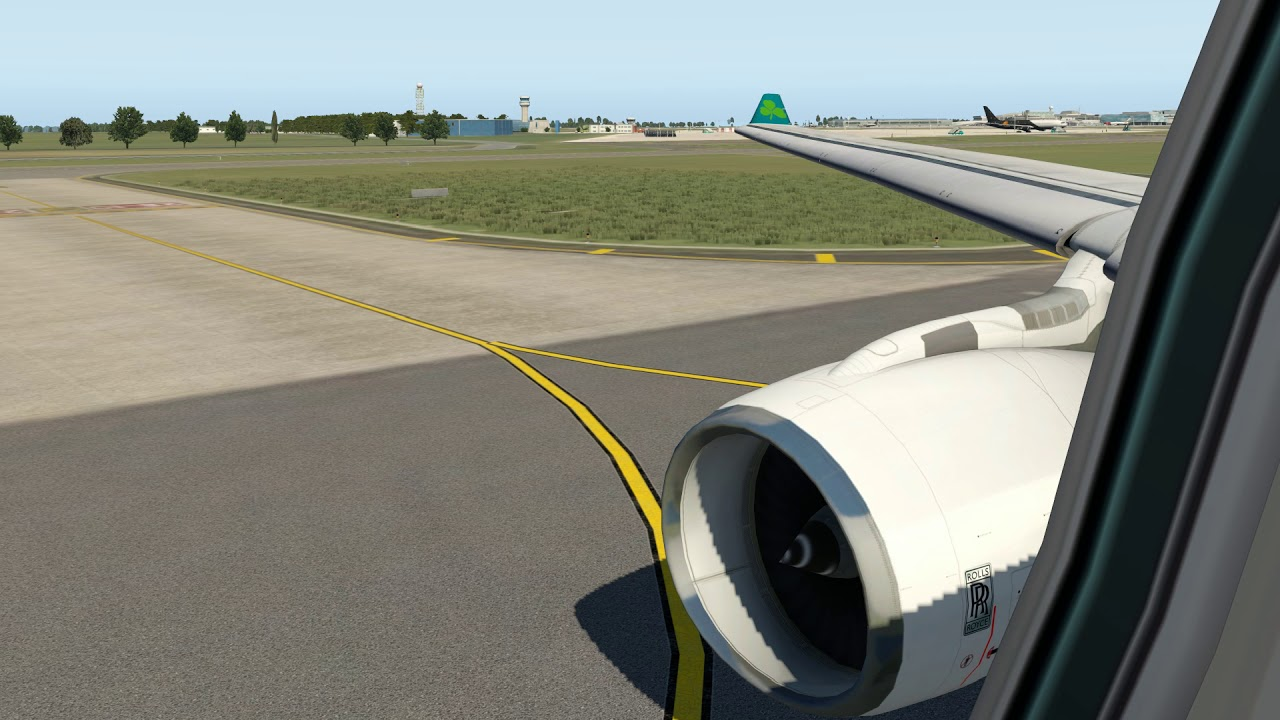 X-Plane 11   Dublin Departure   Aer Lingus   JARDesign