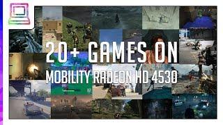 20+ Video Games Running On ATI Mobility Radeon HD 4530 (2019)