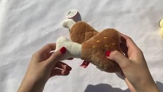 [펫미리] 강아지 장난감 바베큐 삑삑이