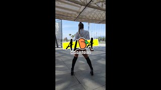BAD GYAL - 44 - Coreografía y baile de TWERK #shorts