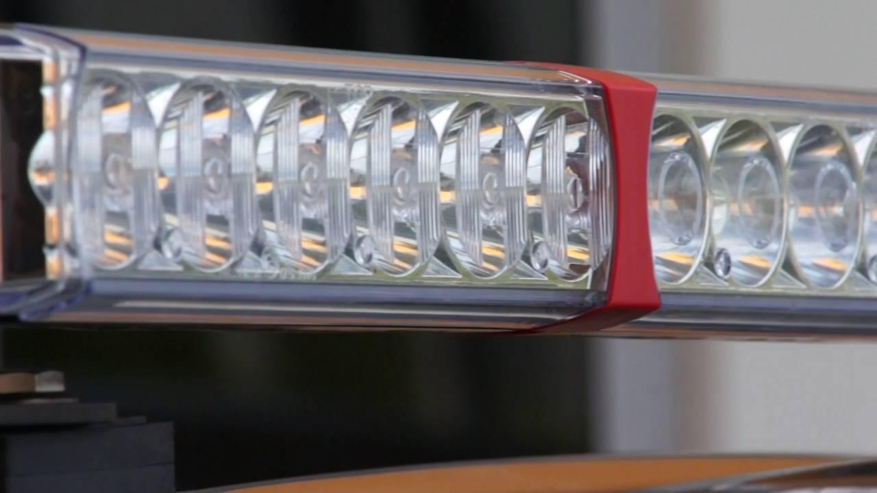 Xray Vision 1200 Series Quad-optic LED Linear Driving Light on
