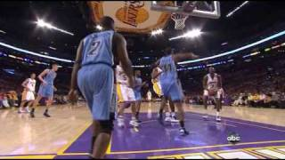 19 04 2009 lakers jazz  lakers highlights
