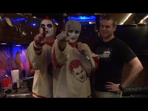 Twiztid Interview #2 in Omaha, NE - Backstage Entertainment