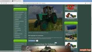 как установить мод на Farming Simulator 2013(Это видео создано с помощью видеоредактора YouTube (http://www.youtube.com/editor), 2014-05-02T05:58:53.000Z)