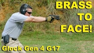Brass To Face! Glock Gen 4 G17 9mm Ejection Examined