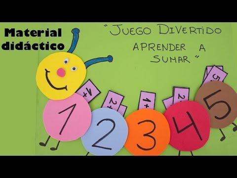Juego divertido: Aprende a sumar (Material didáctico)