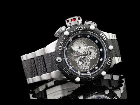 Invicta 21673 52mm Subaqua Noma VI Gunmetal Dial Swiss Master Calendar Chronograph Bracelet Watch
