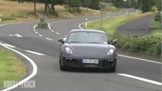 Caught Testing: 2013 Porsche Cayman