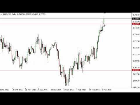 AUD/USD Technical Analysis for March 14 2016 by FXEmpire.com