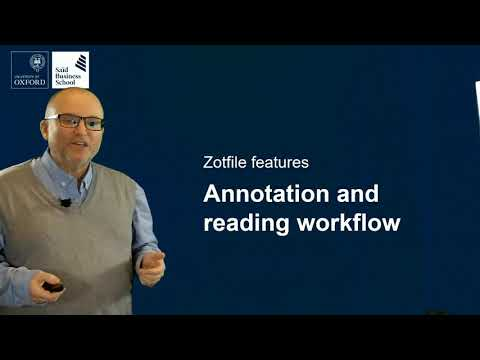 Referencing 5 Zotero Annotation Workflow