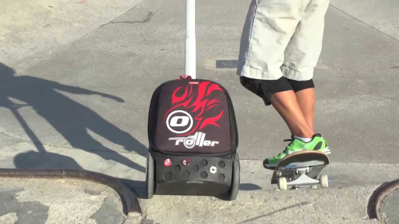 School bag with wheels singapore - Nikidom Roller The Best Ergonomic Trolley Schoolbag