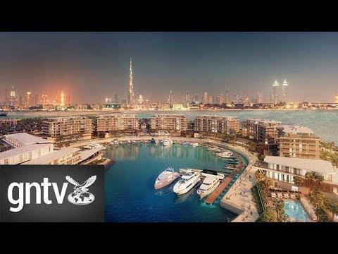 Waterfront developments in the UAE