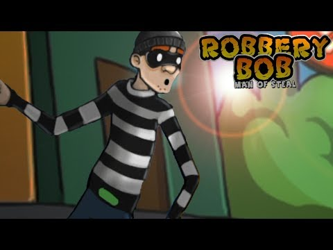 Robbery Bob™ Chapter 2 Downtown Level 11-13 Walkthrough