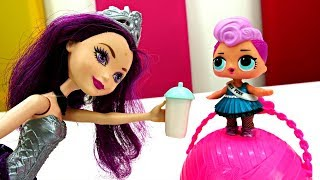 Распаковка куклы ЛОЛ Афтер Хай. Видео для детей