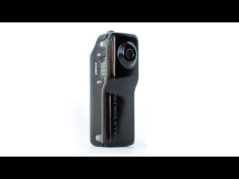 PatrolEyes Mini 720P HD Police Body Camera Footage