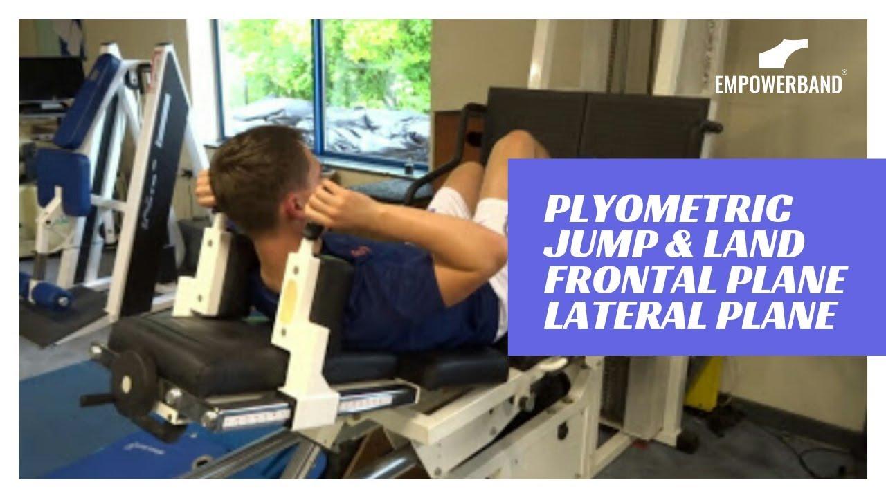 Ankle Strengthening & Rehabilitation Exercise For Football Players; Plyometric Jump